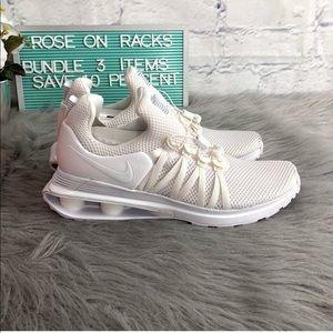 Nike Shox Gravity All White NIB Men's Shoe